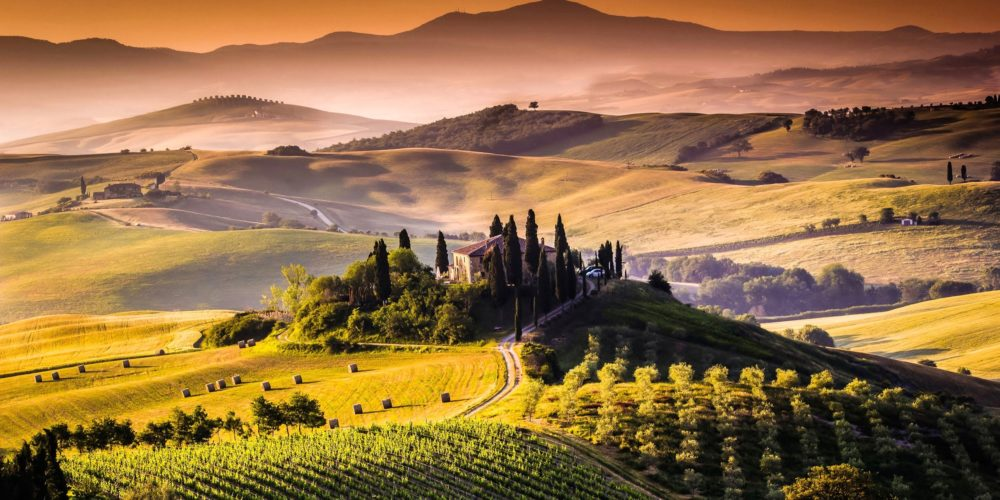 Tuscany driving tour